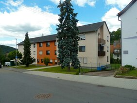 Neu gestrichenes Haus in Mosbach