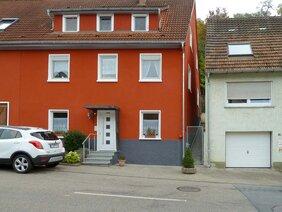 Haus neu gestrichen in Widdern / Heilbronn.